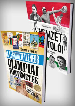 "Olimpiai forma<br><p class=""alcim"">A leghihetetlenebb olimpiai történetek + A Nemzet Sportolói</p>"
